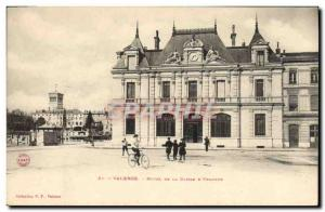 Postcard Old Bank Hotel Valencia City of Caisse d & # 39Epargne Velo Cycle