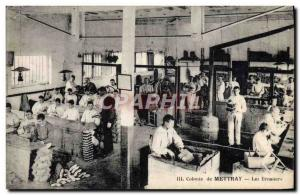 Postcard Old Colony Mettrau The brush makers TOP