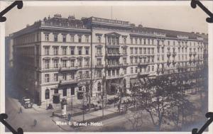 RP, Grand-Hotel, WIEN (Vienna), Austria, 1920-1940s