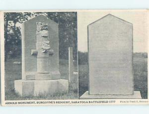 Unused Divided-Back MONUMENT SCENE Sarasota New York NY F2371