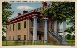 Masonic Temple, Formerly Court House - Camden, South Carolina