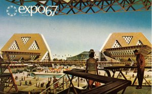 Canada - Quebec, Montreal. Expo 67. Theme Pavilions