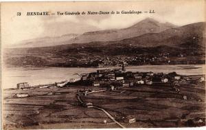 CPA HENDAYE - Vue générale de N.-D. de la Guadeloupe (163376)