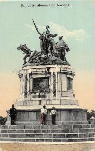 B70/ San Jose Costa Rica Central America C.A. Postcard  c1910 National Monument