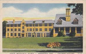 Ohio Springfield Childen's Building Ohio Masonic Home Curteich
