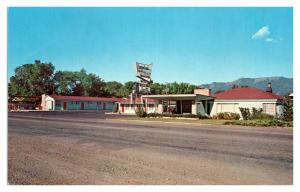 1950s/60s Canyonlands Motor Lodge, Monticello, UT Postcard *5N28