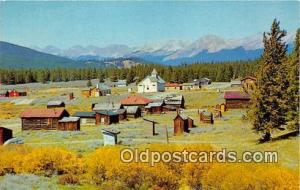 Ghost Town Tincup, Colorado Postcard Post Card Tincup, Colorado Ghost Town