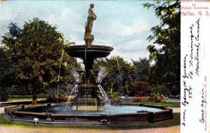 Jubilee fountain , Public Gardens , Halifax , Canada , 00-10s