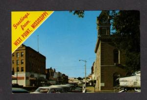 MS Rexall Drugs Drug Store WEST POINT MISSISSIPPI PC