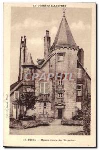 Cantal - Ussel - ducal house of Ventadour - Old Postcard