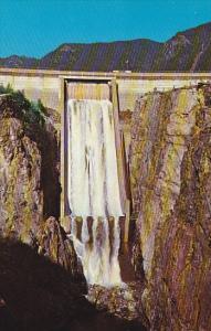 Canada British Columbia Vancouver Capilano Dam Spillway