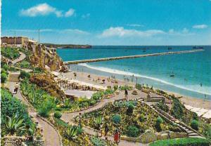 ALGARVE, Beach of Rocha, partial view, Portugal, 50-70s