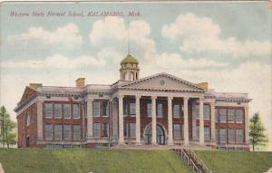 Michigan Kalamazoo Western State Normal School 1907
