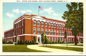 South Carolina Sumter Junior High School West Calhoun Street