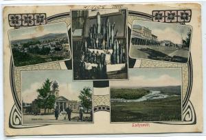 Ladysmith Multi View KwaZulu Natal South Africa 1908 postcard