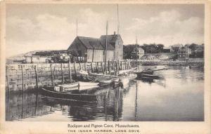 Massachusetts  Rockport   Pigeon Cove The Inner Harbor, Long Cove