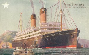 White Star Ocean Liner R.M.S. LAURENTIC , 1900-10s