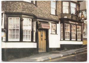 Dorset; Lyme Regis, The Volunteer Inn PPC, Unposted, c 1970's