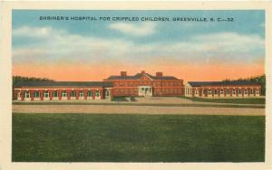 SC, Greenville, South Carolina, Shriner's Hospital, Crippled Children, Kropp