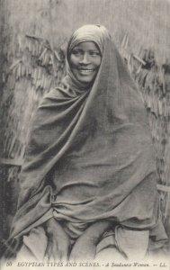 Egypt , 1900-10s ; A Soudanese Woman