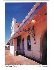 Restored Railroad Santa Fe Train Depot  Historic Las Vegas New Mexico 4 by 6