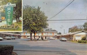 Benton Kentucky Shamrock Motel Street View Vintage Postcard K54109