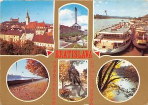 B45352 Bratislava boats bateaux multiviews   slovakia