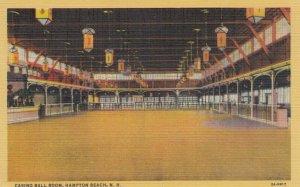 HAMPTON BEACH , New Hampshire, 1930-40s; Casino Ball Room