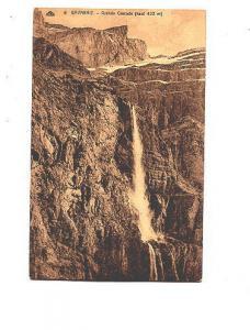Sepia, Falls, Grande Cascade, Gavarine, France