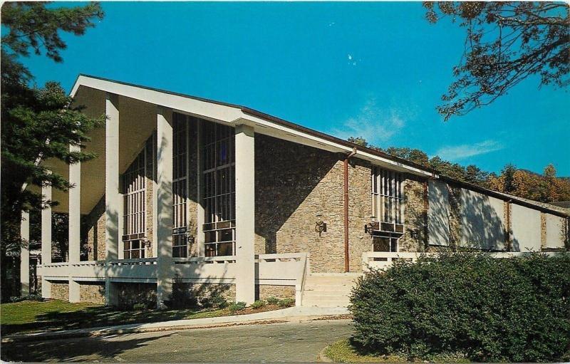 Ridgecrest North Carolina~Baptist Conference Center~B W Spilman Auditorium~1960s
