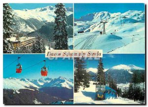 Modern Postcard Davos Schatzalp Strela