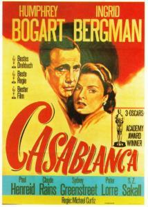 Postcard of Casablanca Movie German