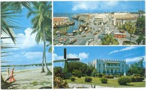 View of Bridgetown, Barbados, West Indies