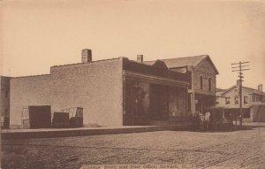 NEWARK , Illinois, 1920 , Bibbins Store & Post Office