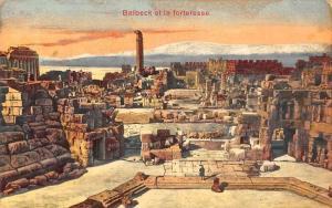 Lebanon Syria Balbeck et la forteresse Fortress