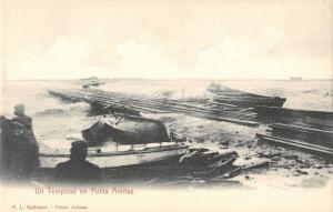 BR94954 un temporal en punta arenas  chile A storm