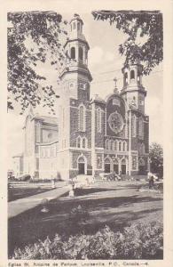 Eglise St. Antoine de Padoue, Louiseville, P.Q. Canada,00-10s
