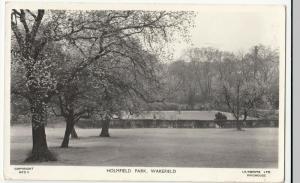 Yorkshire; Holmfield Park, Wakefield RP PPC 1968 PMK To Mrs Every, Bournemouth