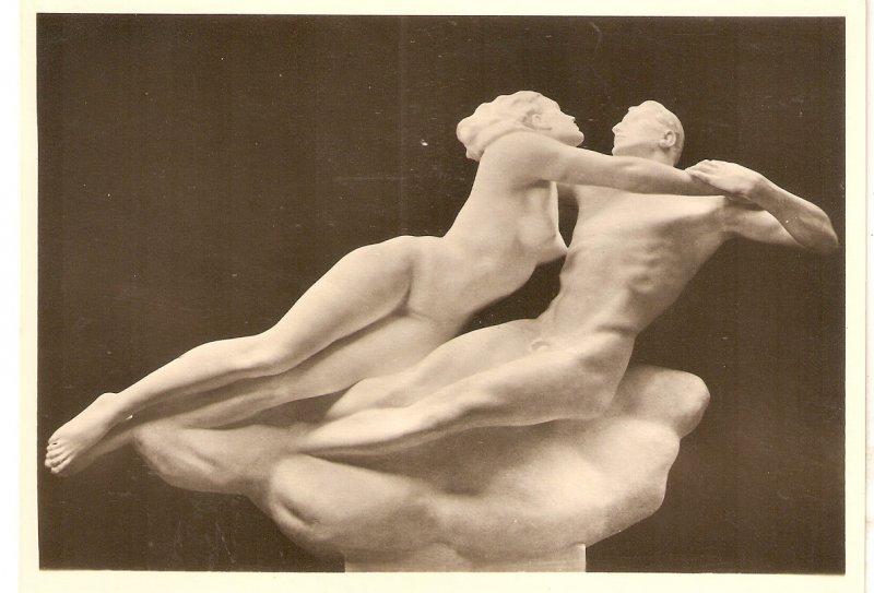 Francesce de Rimini, sculpture  Nice modern German PC. Continental size