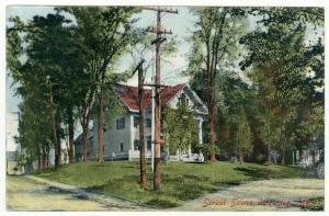Webster, Maine, An Early Street Scene