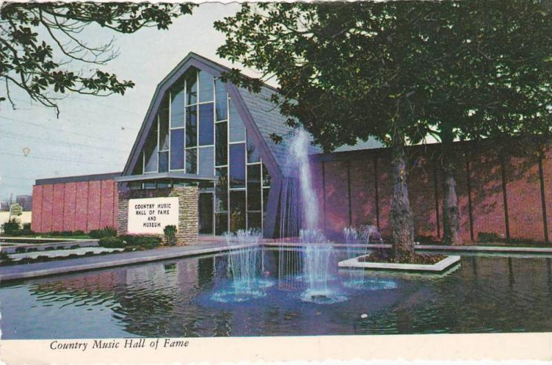 Exterior, Country Music Hall of Fame,  Nashville, Tennessee,  PU-1975