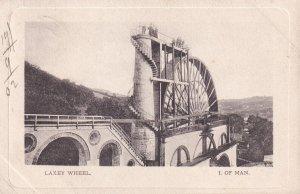 ISLE OF MAN, PU-1912; Laxey Wheel