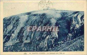 Old Postcard Le Hohneck Vosges