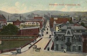 CUMBERLAND , Maryland , 1912 ; Baltimore Street