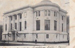 ATLANTIC CITY, New Jersey, PU-1906; Free Public Library