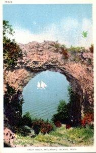 Michigan Mackinac Island Arch Rock