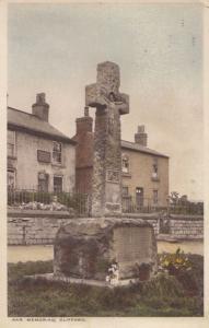 Clifford War Memorial Yorkshire Antique Postcard