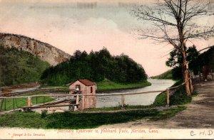 Connecticut Meriden Merimere Reservoir In Hubbard Park