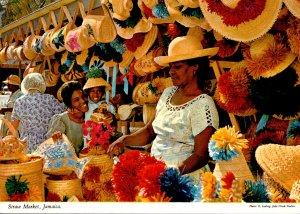 Jamaica Typical Native Straw Market
