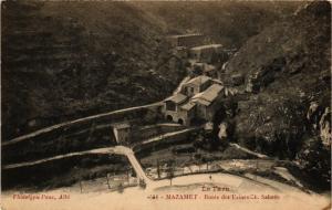 CPA Mazamet - Route des Usines Ch. Sabatie (255360)
